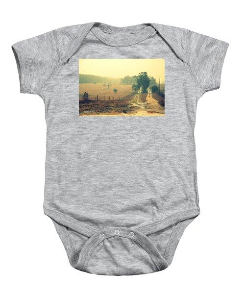 Naked Tree Farm Baby Onesie