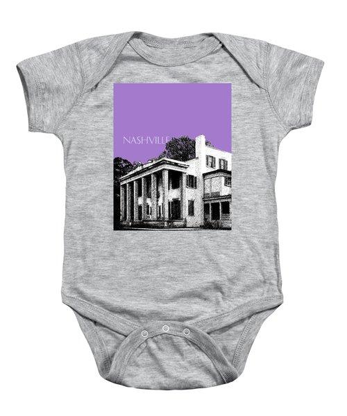 Nashville Skyline Belle Meade Plantation - Violet Baby Onesie