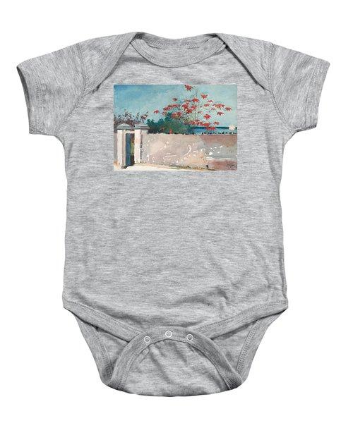 Nassau Bahamas Baby Onesie