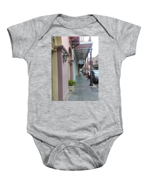 French Quarters In New Orleans 16 Baby Onesie