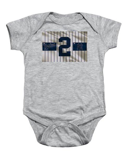 New York Yankees Derek Jeter Baby Onesie