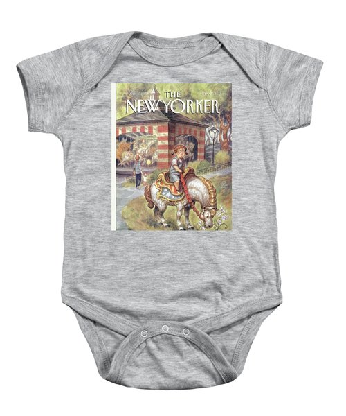 New Yorker April 11th, 1994 Baby Onesie