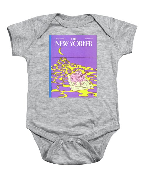 New Yorker July 27th, 1987 Baby Onesie