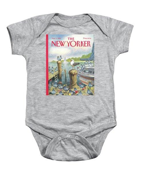 New Yorker September 5th, 1994 Baby Onesie