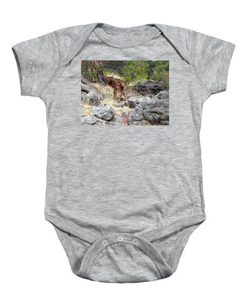 Newborn Elk Calf Baby Onesie