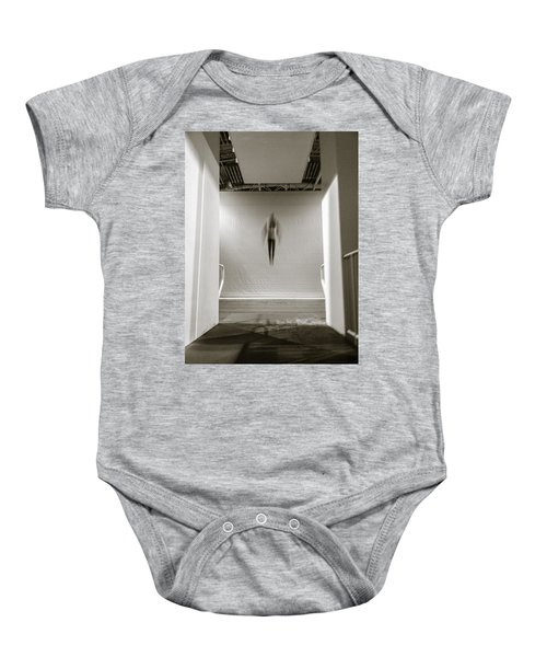 Baby Onesie featuring the photograph Newton's First Law by Alex Lapidus