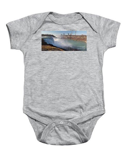 Niagara Falls Panorama Baby Onesie