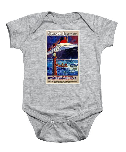 No Better Advice Than To Travel - French Line Baby Onesie