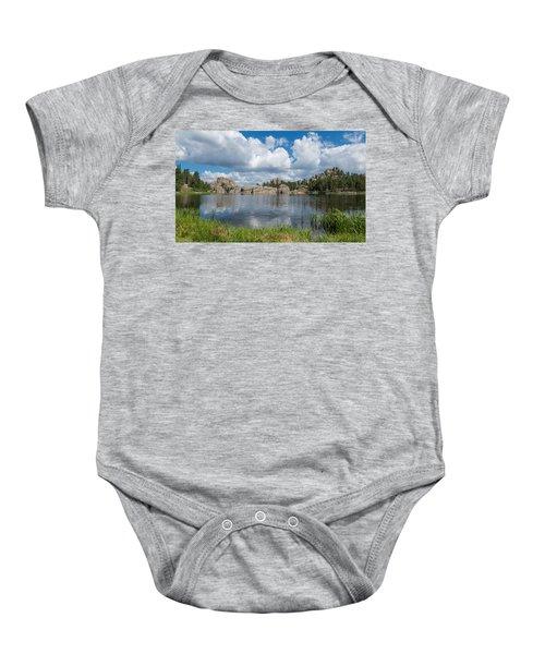 Sylvan Lake South Dakota Baby Onesie