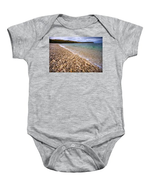 Northern Shores Baby Onesie