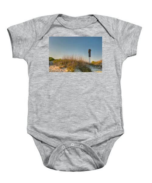 Not A Cloud In The Sky Baby Onesie