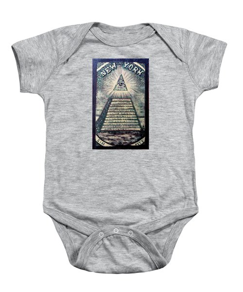 Detail Of - My Times Square -  Baby Onesie