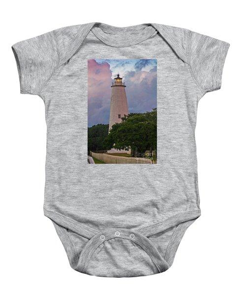 Ocracoke Lighthouse Baby Onesie