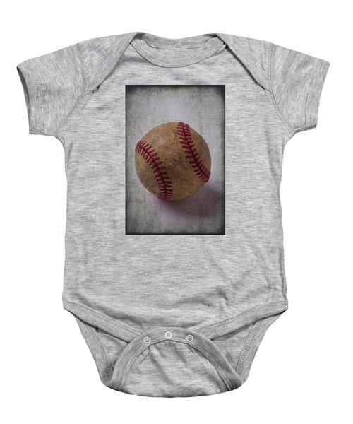 Old Baseball Baby Onesie