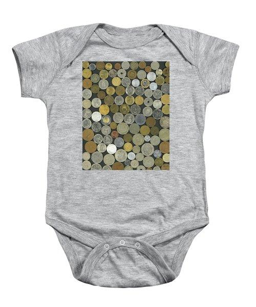 Old Coins Baby Onesie