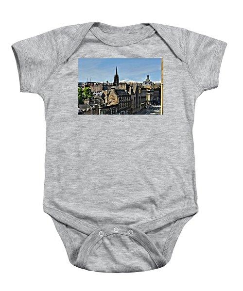 Olde Edinburgh Baby Onesie
