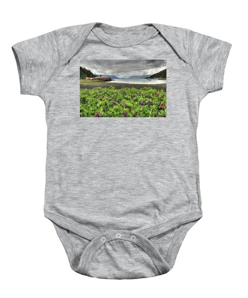 Old Haines Cannery Baby Onesie