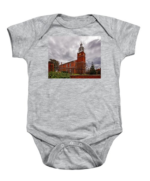 Old Otterbein Country Church Baby Onesie