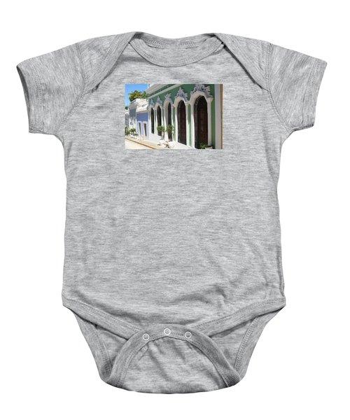 Old San Juan Street Baby Onesie