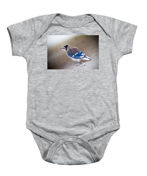 one day...I will fly Baby Onesie by Shane Holsclaw