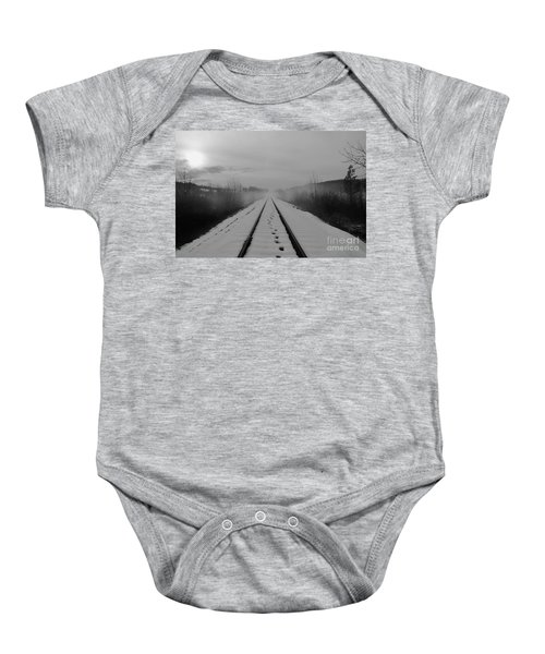 One Man's Journey Baby Onesie
