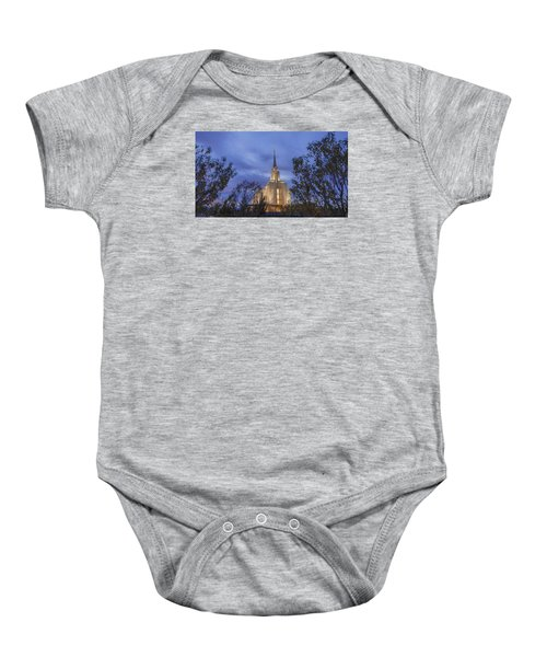 Oquirrh Mountain Temple II Baby Onesie