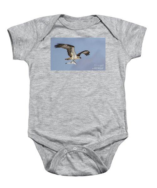 Osprey With Dinner Baby Onesie