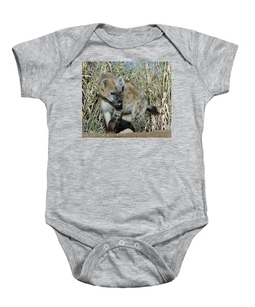 Out Of Africa  Hyena 2 Baby Onesie