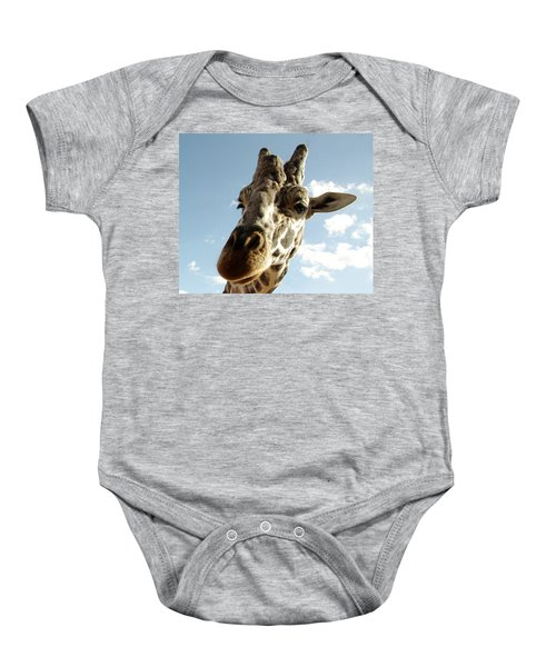 Out Of Africa  Reticulated Giraffe Baby Onesie