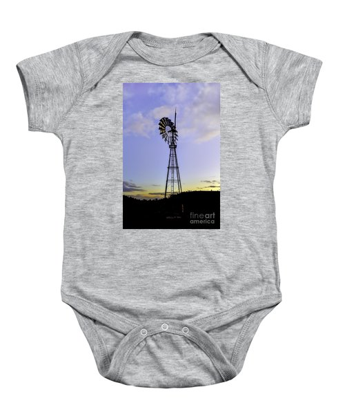 Outback Windmill Baby Onesie