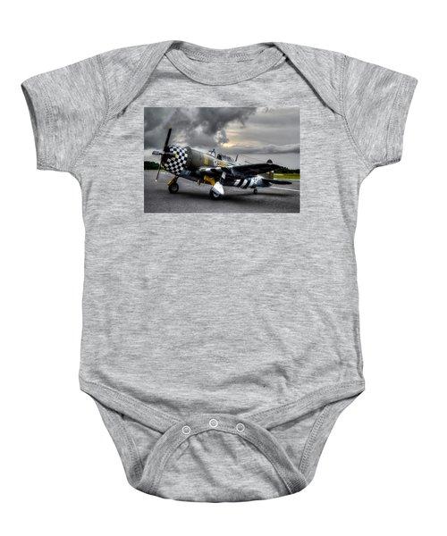 P-47 Sunset Baby Onesie
