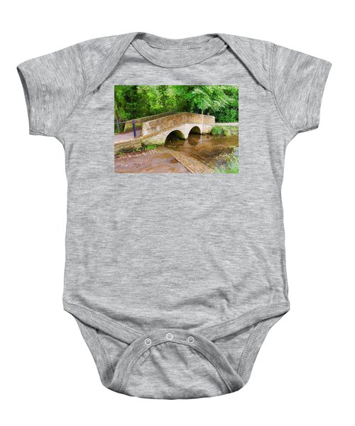 Pack Horse Bridge Baby Onesie