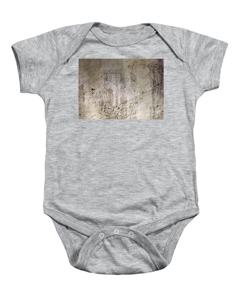 Painting West Wall Tomb Of Ramose T55 - Stock Image - Fine Art Print - Ancient Egypt Baby Onesie