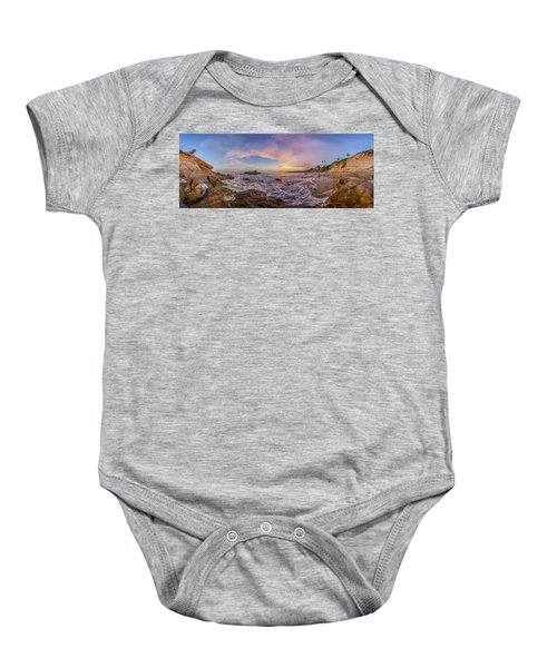 Panorama The Whole Way Round The Cove Baby Onesie
