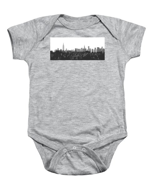 Past Present Future Baby Onesie