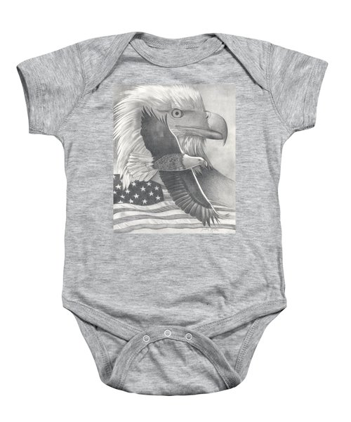 American Bald Eagle Baby Onesie
