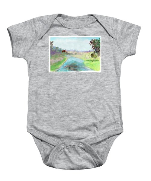 Peaceful Day Baby Onesie