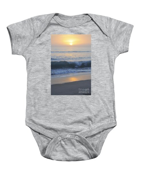 Peaceful Sunset Baby Onesie