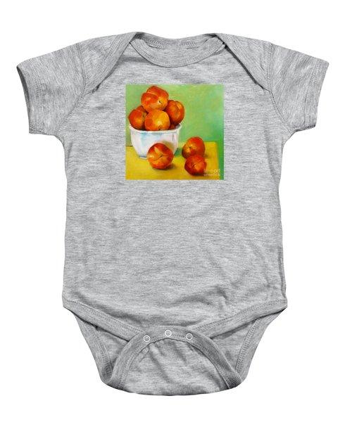 Peachy Keen Baby Onesie