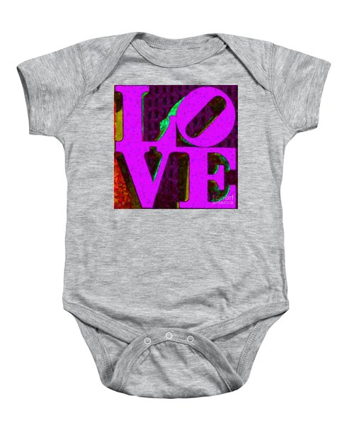 Philadelphia Love - Painterly V2 Baby Onesie