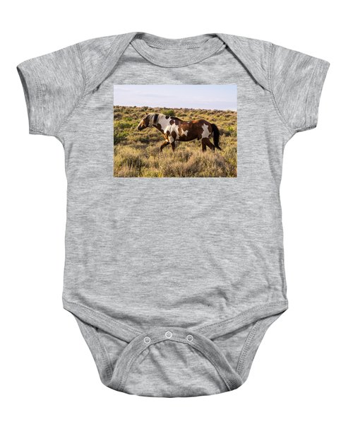 Picasso - King Of Sand Wash Basin Baby Onesie