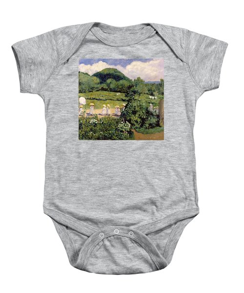 Picnic In May, Summer Day, 1906 Baby Onesie