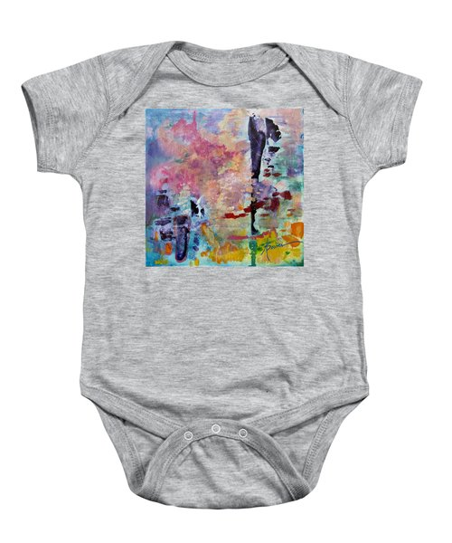 Pink Cloud  Baby Onesie