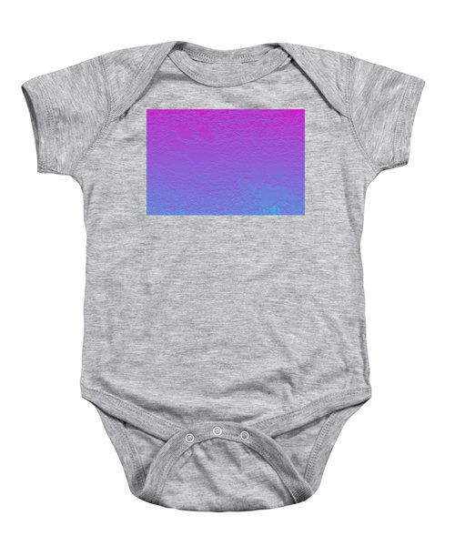 Pink Purple Blue Baby Onesie