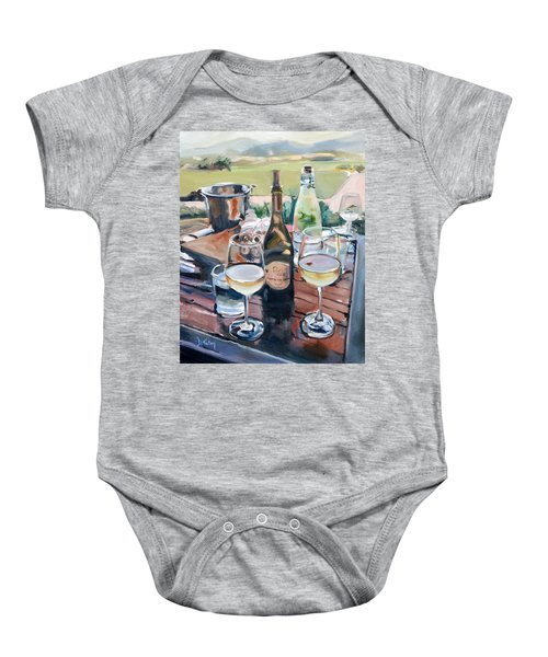 Pippin Hill Picnic Baby Onesie