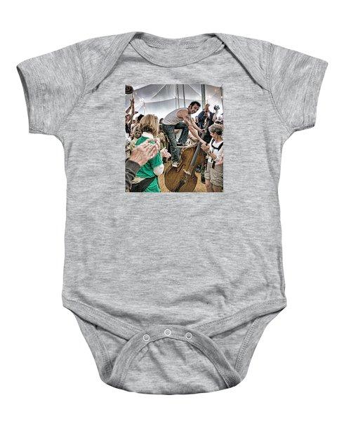The Lost Bayou Ramblers Pleasing The Crowd Baby Onesie