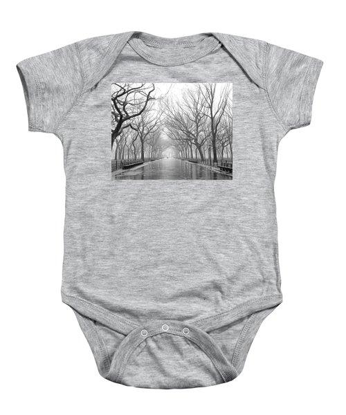 New York City - Poets Walk Central Park Baby Onesie