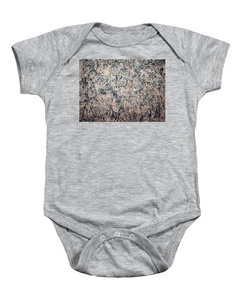 Pollock's Number 1 -- 1950 -- Lavender Mist Baby Onesie