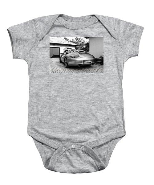 Porsche 911 Carrera 4s Baby Onesie