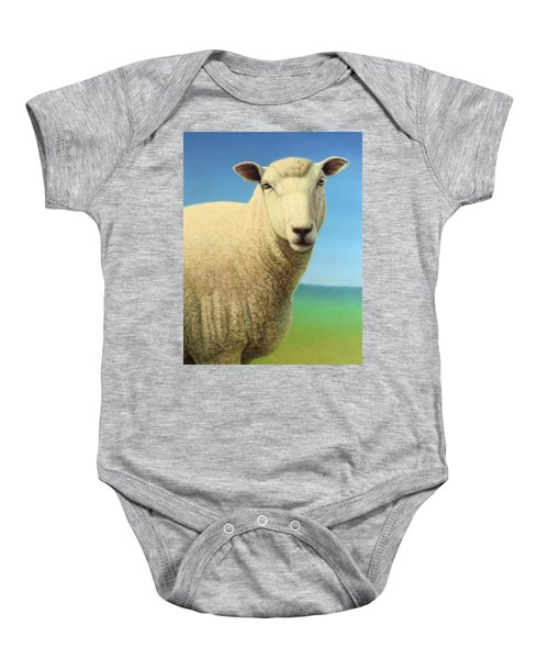 Portrait Of A Sheep Baby Onesie